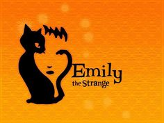 {Emily The Strange} Emily the Strange by Rob Reger #EmilytheStrange #comic #Reger #illustration #art #cats