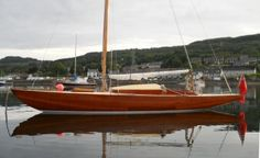 Wooden Classic 23ft Day Sailer Port Side