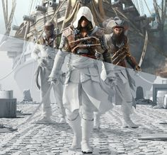 Ars Thanea visuals for Assassin's Creed 4 Black Flag - Games