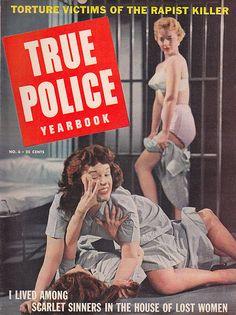 True Police Yearbook - No. 6, 1957 issue.
