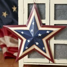 Metal Americana Barn Star