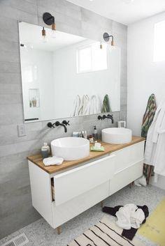 bathroom revamp | designlovefest