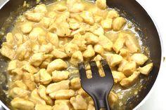 Narancsos-szójaszószos csirke recept