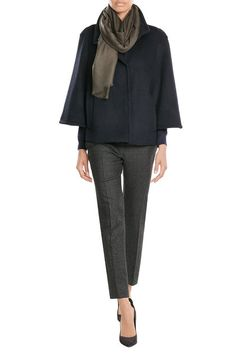 Cape Jacket with Wool |