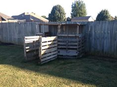 Cheap & Easy Pallet Playhouse! 6-pallets, 6-2x4's, 1.5 sheet of plywood. Done!