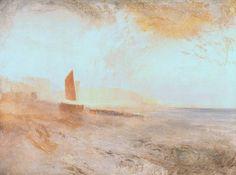 Joseph Mallord William Turner, Brighton Beach, circa 1827, 1843