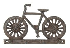 ooooh, how cute and perfect for holding keys. cast iron 8 × 5 in The post Bicycle decorative wall key rack hooks appeared first on Trendy. Cast Iron, It Cast, Decorative Wall Hooks, Key Rack, Iron Wall, Cannon, Bicycle, Wall Decor, Keys