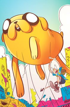 ADVENTURE TIME #22 Price: $3.99  Author(s): Ryan North  Artist(s): Shelli Paroline, Braden Lamb  Cover Artist(s): A:Mike Holmes  B:Sarah Harrocks  C:Tessa Stone  D: Allen Lau   Finn and Jake find themselves in a sticky situation when Princess Bubblegum's experiments searching for the origin of life...specifically, her life...go horribly wrong, overcoming the Candy Kingdom! What sour weapon can the boys find that can overcome something so primordially sweet?