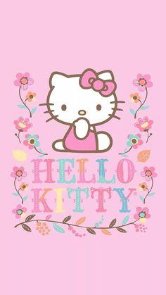 Nursery Fabric- Hello Kitty 36'' Panel Fall Flower