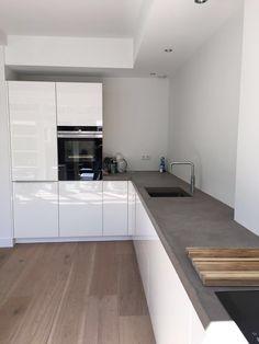 Corner Desk, Kitchen Cabinets, Table, Modern Interiors, Furniture, Kitchens, Home Decor, Corner Table, Decoration Home