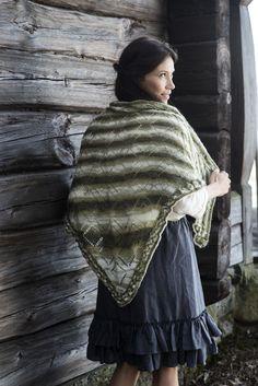 Pitsineulehuivi Novita Huurre | Novita knits