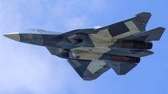 Russian 5th gen fighter T-50