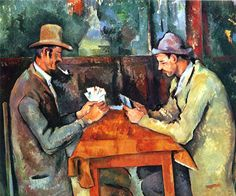 HONESTIDAD---Paul Cézanne - Les joueurs de cartes - Cuarta versión: 1892-95, óleo sobre lienzo, 60 × 73 cm - Courtauld Institute of Art, Londres
