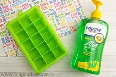 15 Simple Hacks To Remember Before Cannonballing Into The Pool This Summer Aloe Vera For Sunburn, How To Treat Sunburn, Simple Pool, Ice Cube Trays, Ice Tray, Summer Diy, Cool Pools