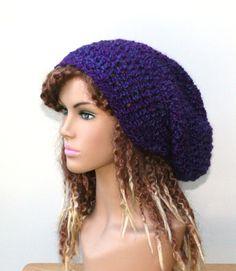 2619a6702b9 32 Best purple haze slouchy beanie dread tam images