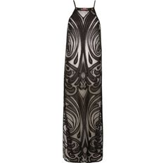 24704ab987 River Island Black lace cover-up maxi dress ( 50) ❤ liked on Polyvore