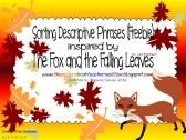 Sorting Descriptive Phrases with The Fox and the Falling Leaves product from All-Things-Picture-Books on TeachersNotebook.com