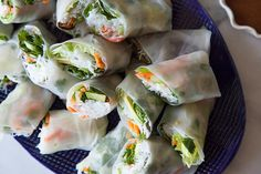 Avocado Shrimp Spring Rolls For Warm, Spring Days Ahead #Refinery29  This is still on my to do list like so many other recipes.