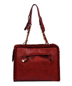 Take a look at this Red Dexie Satchel by Vieta on #zulily today!  I want this!!!! :-D
