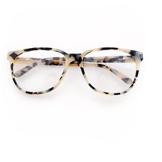 Prism Glasses 'New York' Cream Tortoise Shell ($334) ❤ liked on Polyvore
