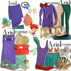 ariel disneybound | Occupy the Wardrobe: Happy Birthday to me! Disneybound inspired.