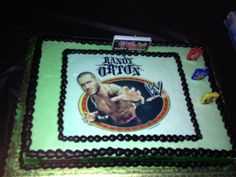 randy orton birthday cake