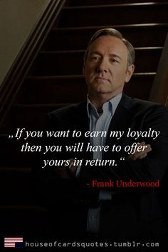 House of Cards Quotes