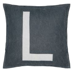 Spell it out L #pillow #decorative