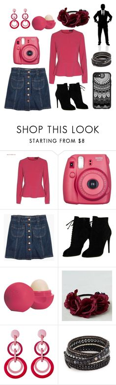 """Black Raspberry //Day Two"" by browneyedbeautiful ❤ liked on Polyvore featuring Fujifilm, Madewell, Tom Ford, Eos, American Eagle Outfitters, Mochi, Chan Luu, Casetify and brookie700"