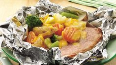 Want to beat the heat in the kitchen? Fold up these quick ham-broccoli-and-potato packets and cook them outside on the grill for an easy summer supper with no cleanup.