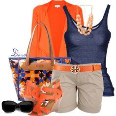 Love the Orange touch