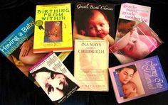 Alternatives to mainstream pregnancy, birth and baby books.