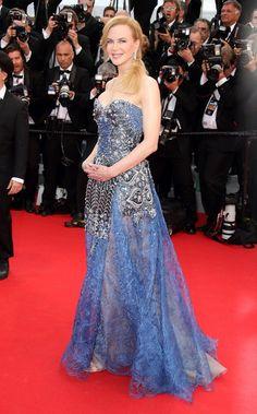 Pin for Later: Julianne Moore regiert auf dem Filmfestival in Cannes Nicole Kidman auf der Grace of Monaco-Premiere Nicole Kidman in Armani Privé auf der Eröffungsfeier von Cannes, bei der Premiere von Grace of Monaco.