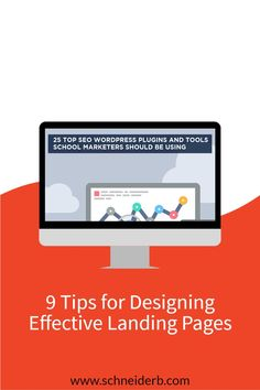 As school marketers develop a more sophisticated approach to digital marketing, they're bound to encounter new marketing strategies. If you haven't already, you will likely consider the use of landing pages at some point in time.You might be wondering how landing pages might fit into your school marketing plan. While developing a landing page might seem like a simple enough task, there are certain tactics and elements you need to include in order for them to perform well. Website Design Cost, Wordpress Website Design, Marketing Strategies, Marketing Plan, Internet Marketing, Virtual Academy, Branding Your Business, Website Design Inspiration, Wordpress Plugins