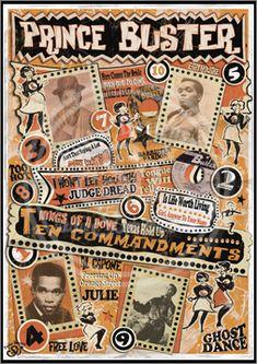Prince Buster, Ska, Reggae, Poster