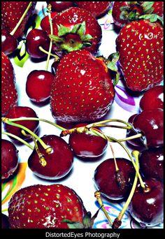 I love red fruit.