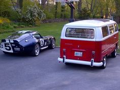 a bus and a coupe?! yes please
