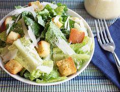 "Tofu-based creamy ""no-guilt"" Cesar dressing recipe from Alton Brown"