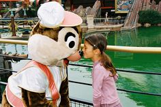 Disneyland Park, Discoveryland - Dale With A Little Girl, Disneyland Paris