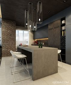 When you think of brick walls you typically think of lofts, country homes, maybe even bungalows. But brick walls are now used in a variety of spaces as faux and accent walls, and even to bring some ch