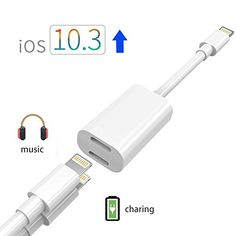 iPhone 7 Plus Adapter & Splitter, CaseyPop Dual Lightning Headphone Audio & Charge Adapter Accessories for iPhone 8 / 8 Plus / 7 / 7 Plus (IOS 11) White  https://topcellulardeals.com/product/iphone-7-plus-adapter-splitter-caseypop-dual-lightning-headphone-audio-charge-adapter-accessories-for-iphone-8-8-plus-7-7-plus-ios-11-white/  IMPORTANT NOTE: This lightning splitter is specially designed for iphone 7 / 7 plus,support any lightning device that runs iOS 11. Also sup