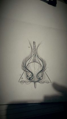 Harry potter tattoo sketch Mehr