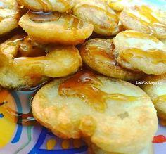 Συνταγή για εύκολες παραδοσιακές τηγανίτες Pretzel Bites, Shrimp, Pancakes, Good Food, Brunch, Bread, Breakfast, Sweet, Recipes