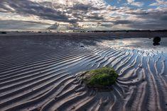 Seamill Beach Sand Ripples, Ayrshire, Scotland