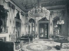 Photographic Print: The White Drawing-Room at Buckingham Palace, by HN King : King Drawing, Drawing Room, Buckingham Palace Floor Plan, Victoria Reign, Queen Victoria, Carlton House, English Interior, Palace Interior, Old Mansions