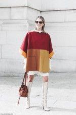 Paris_Fashion_Week-Fall_Winter_2015-Street_Style-PFW-Helena_Bordon-Cape-Lace_Up_High_Boots-