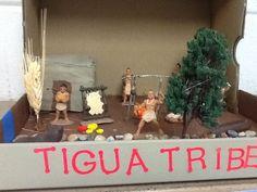 4th grade Indian diorama. Indian Project, Social Studies Projects, Diorama Ideas, Native Americans, School Projects, School Stuff, Nativity, Ali, Homeschool