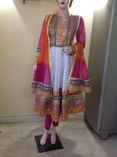 Designer suit from the house of Rangat by Namita