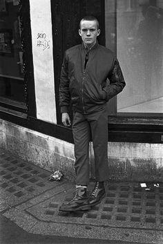 Derek Ridgers, Skinhead, Hoxton 1981.