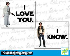 Star Wars I Love You I Know Leia Han Solo - Disney Vacation Couples Shirt Design or Clipart You And I, I Love You, My Love, Couple Shirt Design, Disney Couples, Han Solo, Disney Star Wars, Matching Couples, Couple Shirts